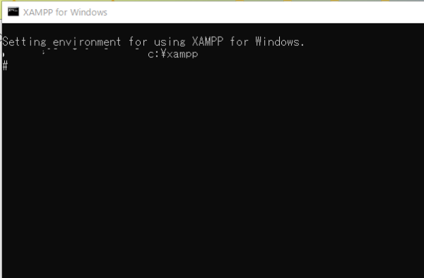 XAMPP MySQL