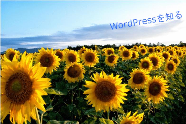 WordPressが簡単に分かる