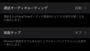 iOS14 アクセシビリティ